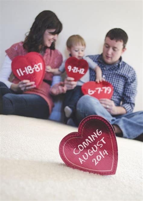 valentines pregnancy announcement ideas s day pregnancy announcement ideas