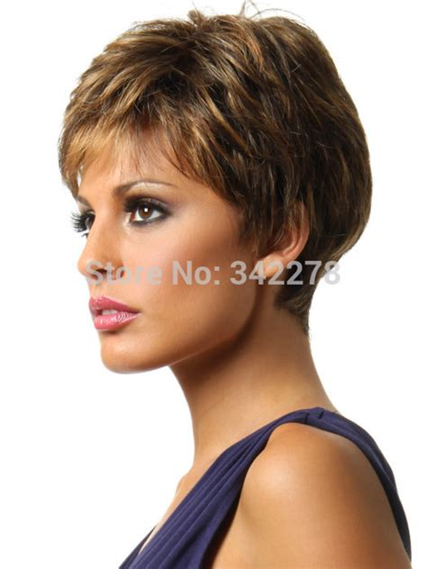 2015 new stylish pixie cut hairstyle synthetic wigs short curly hair wigs for americans wig material picture more detailed picture about 2015