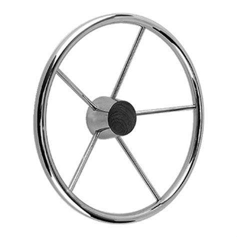 boat steering wheel maintenance sea choice destroyer steering wheel 168744 steering