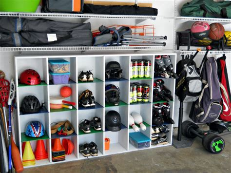 Garage Organization Sports Equipment Iheart Organizing Reader Space Trash To Treasure Garage