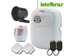 kit alarme sem fio intelbras basic kit de alarme