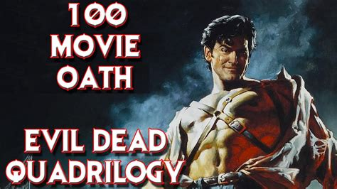 evil dead total film review evil dead movies review 100 movie oath 2 5 youtube