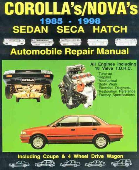 service manuals schematics 1993 toyota corolla user handbook 1993 toyota corolla owners manual pdf