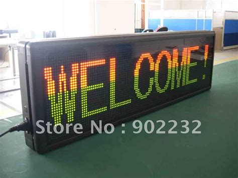 Led Display Indoor ph7 62mm indoor led sign led display fast shipping 1pcs