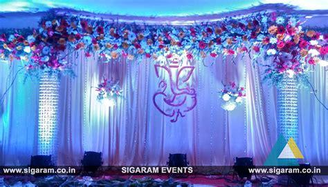 engagement stage decoration  bon sejour hotel