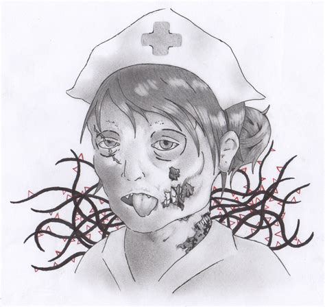 zombie nurse tattoo designs by mochiimoon09 on deviantart