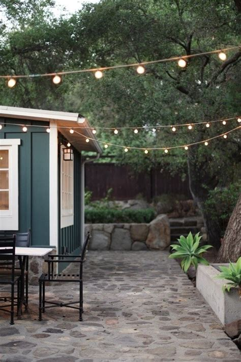 String Lights Outdoor Pinterest Outdoor Deck String Lighting