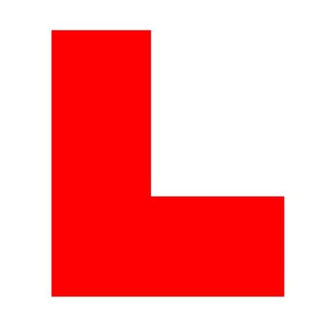 L For by Learning All About L Plates From Driving Instructors