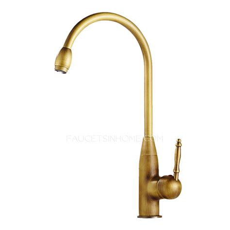 brushed brass sink faucet antique brass brushed brass kitchen sink faucet single