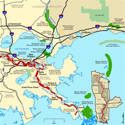 louisiana byways map great river road great river road in louisiana south