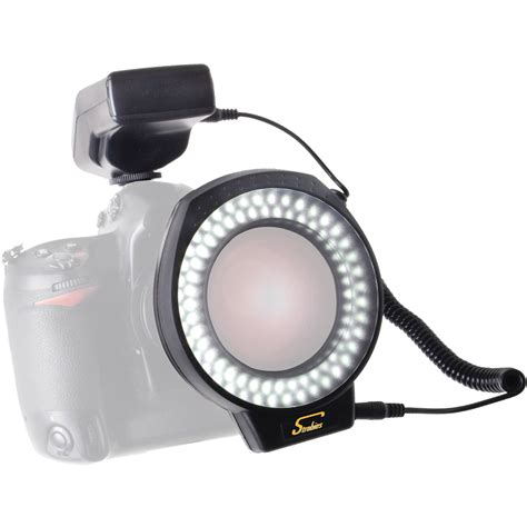 led ring light photography interfit strobies led macro ring light str172 b h photo video