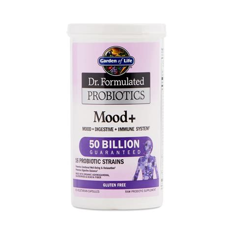 Garden Of Probiotics Mood Mood Probiotics For Mood By Garden Of Thrive Market