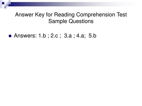 reading comprehension test accuplacer ppt accuplacer reading comprehension test powerpoint