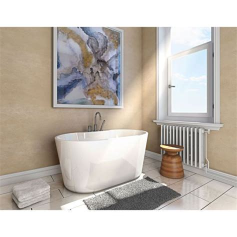 56 Freestanding Bathtub by Jono Rex 56 In Freestanding Oval Bathtub And Faucet Combo Water Closet Faucets