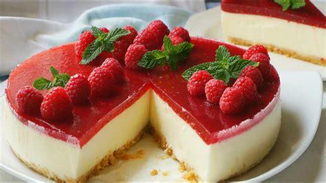 imagenes de tortas variadas tarta de queso sin horno con mermelada f 225 cil y r 225 pida