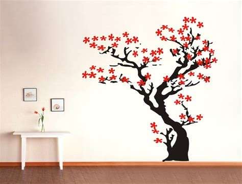 wall stickers cherry blossom tree cherry blossom tree wall decals stickers