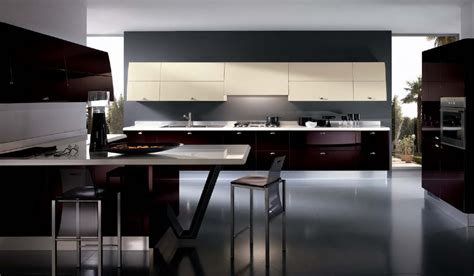кухня в стиле хай тек высокотехнологично и удобно