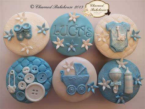 Boy Baby Shower Cupcakes by Baby Boy Cupcakes