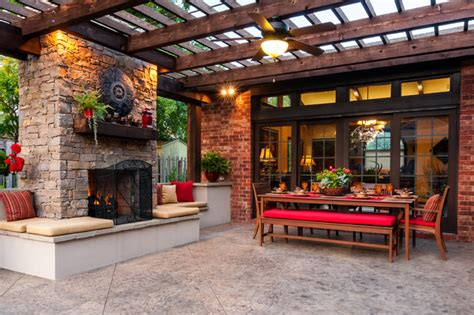 Patio Designs Okc Bartlesville Outdoor Living Traditional Patio