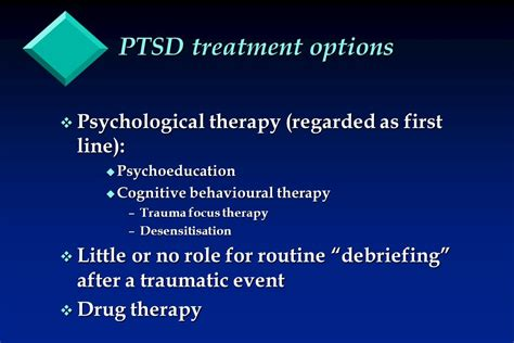 ptsd therapy post traumatic stress disorder ppt