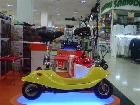 Sepeda Scooter Anak Listrik Manual mr jackie indonesia center