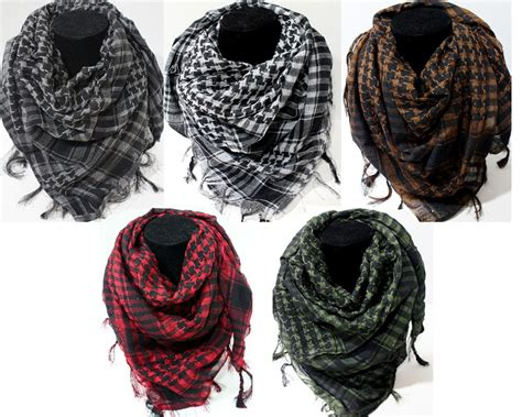 new fashion lot of 5 wholesale arab shemagh