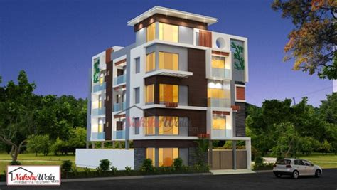 Residential Floor Plans by Triple And Multi Storey Elevation 3d Triplex House