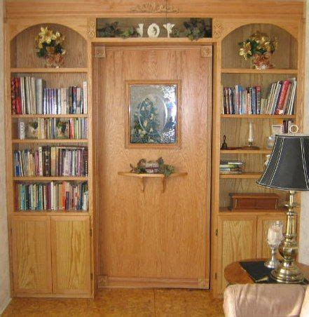 safe room bookcases and homesteads on