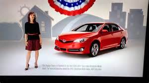 Jen From Toyota Toyota Camry Most American Made Car 3 Years In A Row