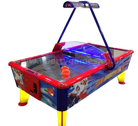 wik gold commercial air hockey table liberty
