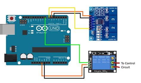 capacitance switch controls a relay on arduino rydepier