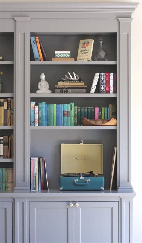 painting built in bookcases best 25 vintage bookcase ideas on diy vintage