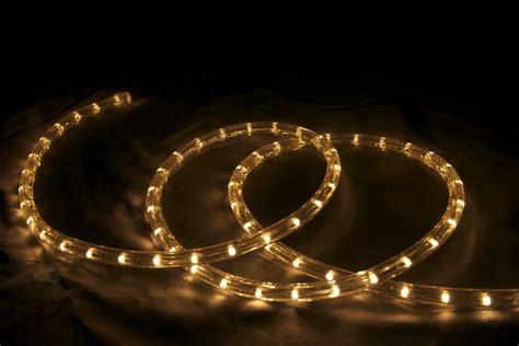 led 2 wire 1 2 120v directional rope light custom cut