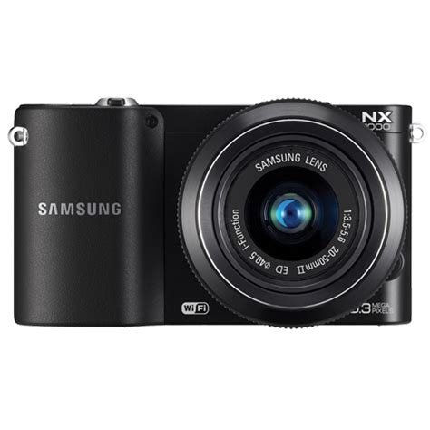 Kamera Mirrorless Samsung Nx1000 samsung nx1000 20 3mp mirrorless with 20 50mm lens and wifi black best buy ottawa