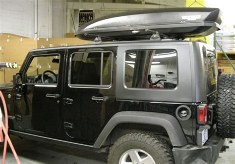2013 Jeep Wrangler Unlimited Hardtop Storage by Jeep Wrangler Jk Hardtop 2dr Rack Installation Photos