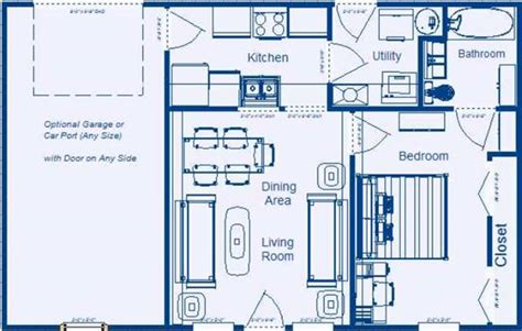 Apartment Above Garage by Low Income Residential Floor Plans By Zero Energy Design 174