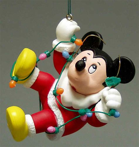 grolier disney christmas ornament mickey 1242488 ebay