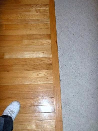 How To Transition From Carpet To Wood Flooring by Hardwood Transition Flooring Contractor Talk