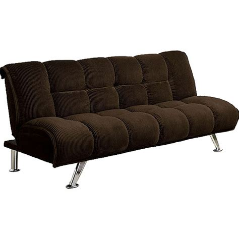 couch bed walmart furniture of america maybelle futon convertible sofa bed