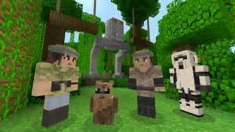 Minecraft star wars dlc brings favourite character skins to xbox