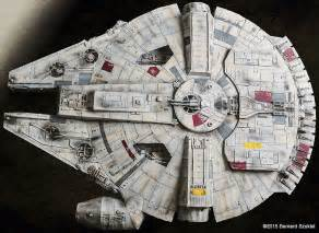 millennium falcon paper model this paper millennium falcon has it where it counts nerdist
