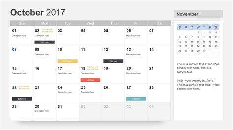 keynote calendar template free calendar 2017 template