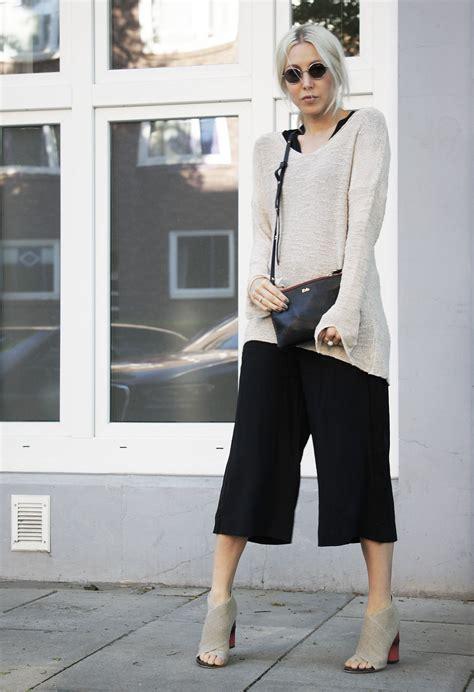 Hm Longblouse knit knitwear zara culottes h m acne rika