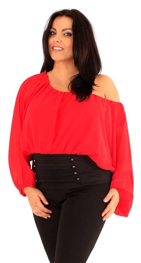 New Hem Jk3306 Size new plus size corset hem sleeve chiffon blouse top 18 24 ebay