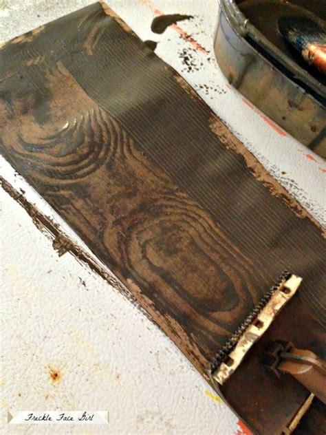 faux wood painting tools remodelaholic faux wood plank floors using brown paper