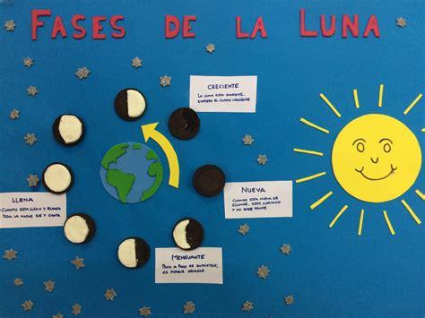 fases de la luna para ninos fases de la para ninos voluntario menudaciencia fases