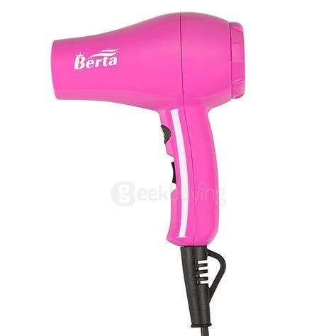 Berta Mini Hair Dryer 800 Watts berta 101 800w mini anion hair dryer