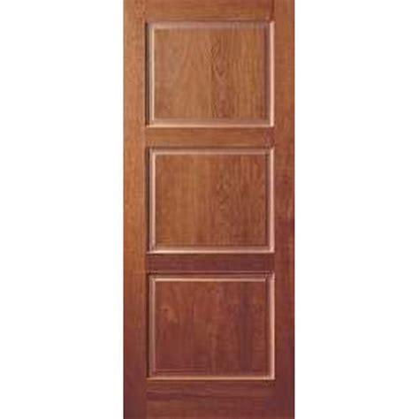 3 panel door interior wood panel doors by mastercraft