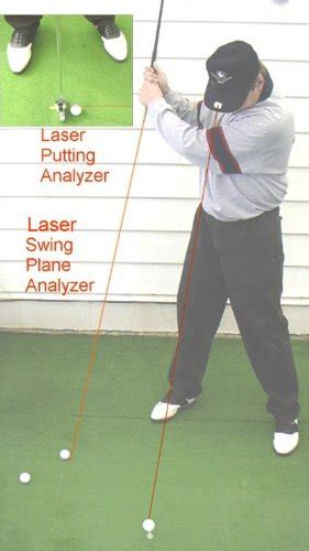 laser golf swing trainer 6 way laser guided golf trainer driving irons swing