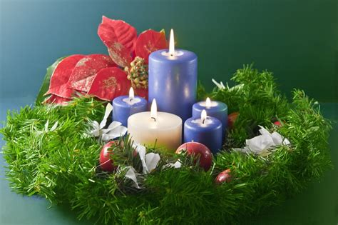 immagini candele di natale sfondo desktop candele di natale